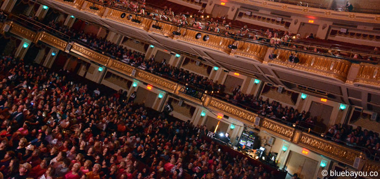 The audience at the Orpheum Theatre during the Ultimate Elvis Tribute Artist Contest.