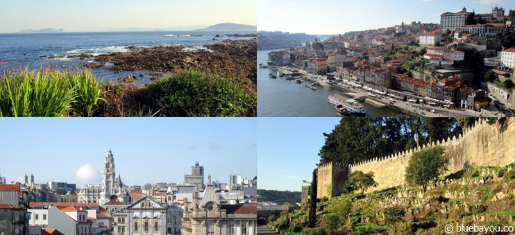 The Spanish coast, a castle, and beautiful Porto: the untraditional Way of St. James from Santiago to Porto.