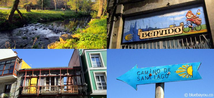Rivers, colorful houses and Camino signs: the untraditional Way of St. James from Santiago to Portugal.