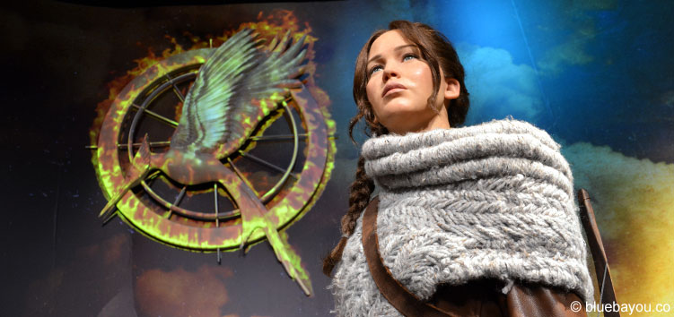 Jennifer Lawrence as Katniss Everdeen at Madame Tussauds London.