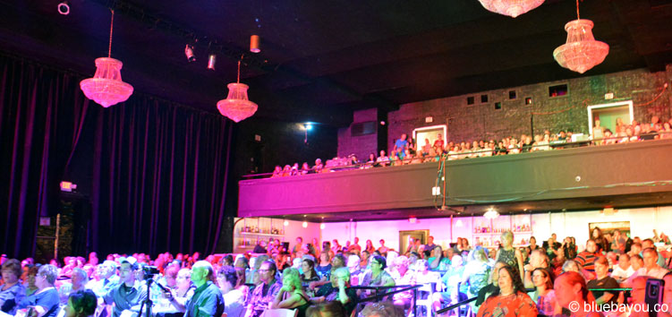 The audience on August 9th at the New Daisy Theater in Memphis.