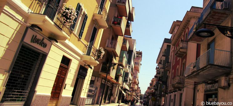 The town of Pescara, Italy.