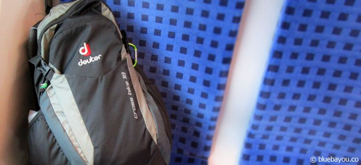 My three kilogram backpack for eight days on the Camino.
