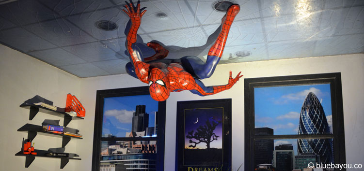 Spiderman at Madame Tussauds London.