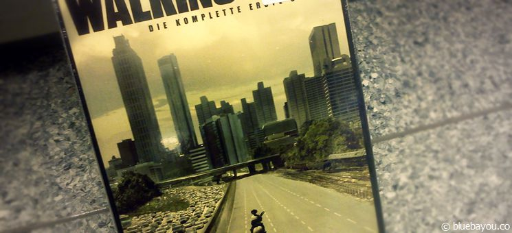 "DVD cover of ""The Walking Dead"" season 1."