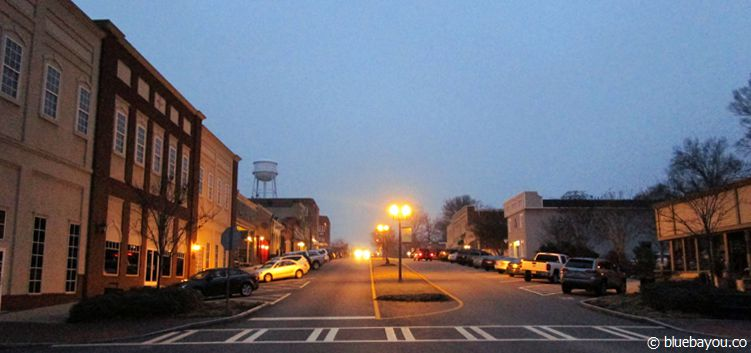 The Walking Dead location in Senoia, Georgia: This city had been the filming location for the Governor ruled city Woodbury.